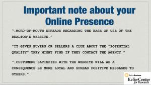 06 online prsence research