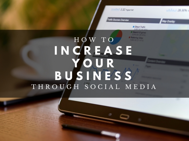 Increase your RE Business with Social Media - April 25th 2018 (1)